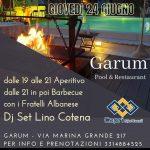 L' Aperitivo con Barbecue al Garum