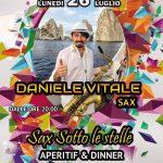Daniele Vitale Ospite alla Tablita di Anacapri