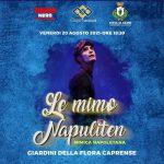 Il Mimo Napuliten lo show per I piu piccini della Capri Spettacoli per la Citta' Di Capri Assessorato all' infanzia